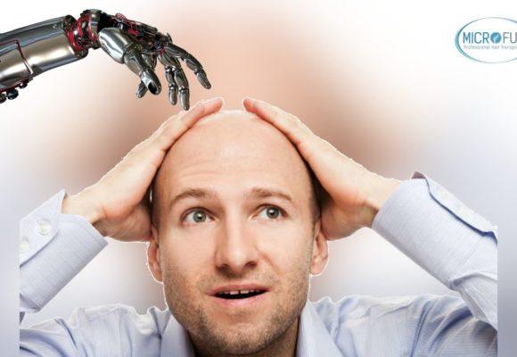 Trasplante capilar con robot