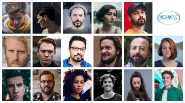 fotografías de pacientes de trasplante capilar de todo el mundo
