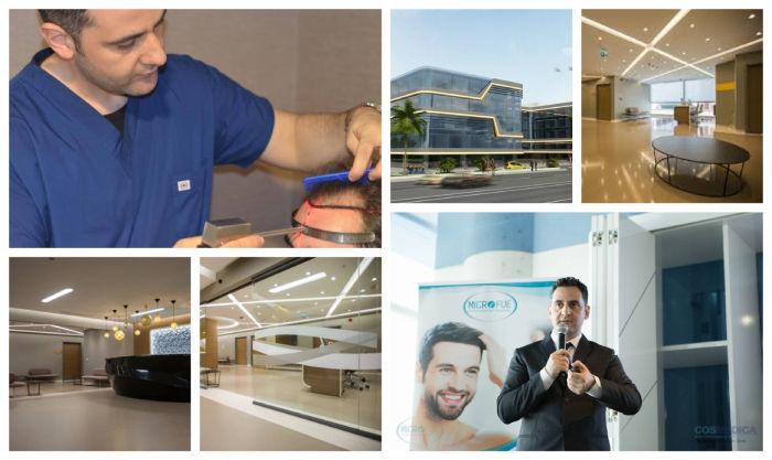 trasplante capilar en Turquía mejor clínica