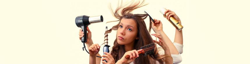 cuidado con el secador, influye negativamente en la salud de tu pelo y lo daña
