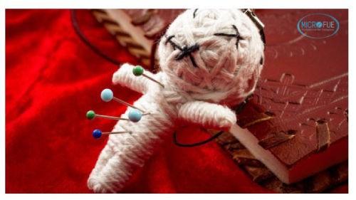 muñeco vudú mentiras sobre el trasplante capilar