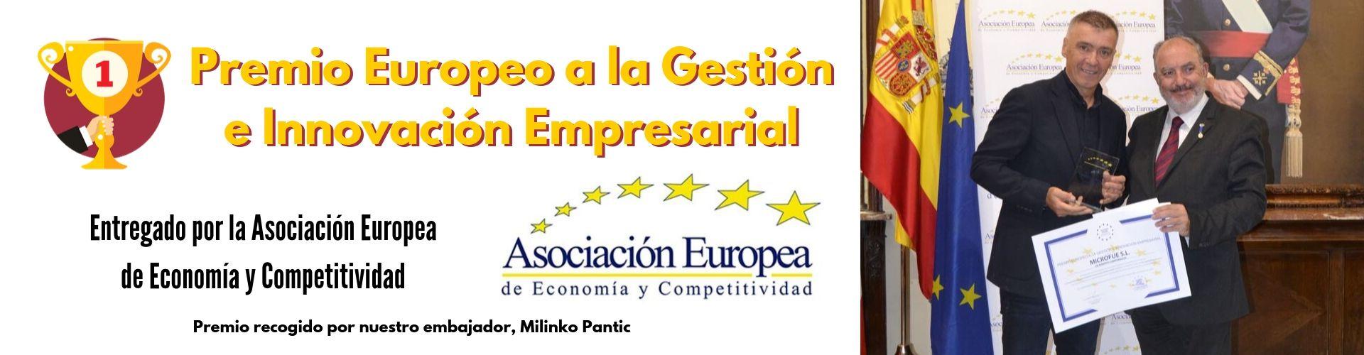 Premio europeo a la gestión e innovación empresarial recogido por microfue